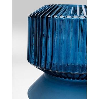 Wazon Marvelous Duo Ø18x36 cm niebieski