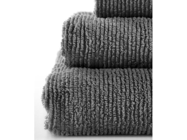 Ręcznik łazienkowy Miekki 150x95 cm ciemnoszary Ręcznik kąpielowy 40x70 cm Komplet ręczników 95x150 cm Bawełna 50x100 cm Kategoria Ręczniki