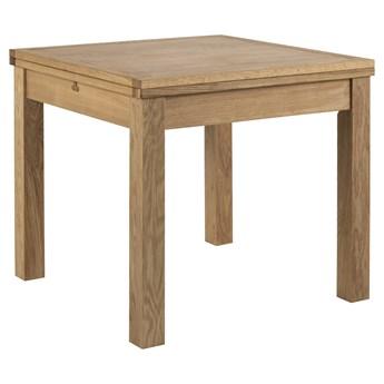 Stół rozkładany Dulaney 80-160x80 cm naturalny