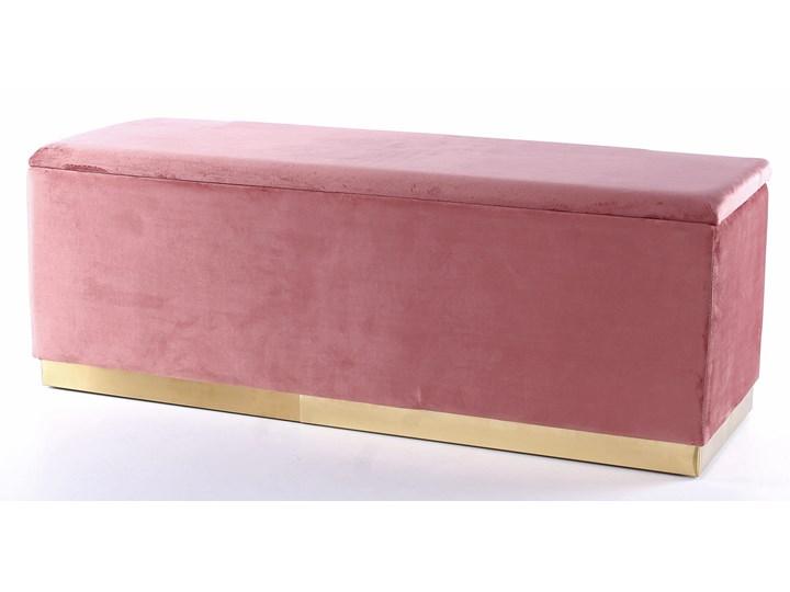 Ławka Cherry 120x42 cm różowa Styl Minimalistyczny