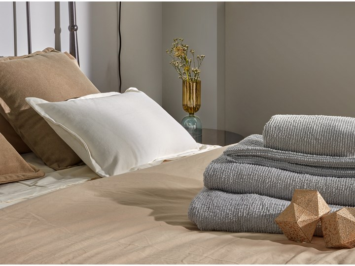 Ręcznik łazienkowy Miekki 150x95 cm jasnoszary Ręcznik kąpielowy Bawełna Komplet ręczników 95x150 cm 50x100 cm 40x70 cm Kategoria Ręczniki