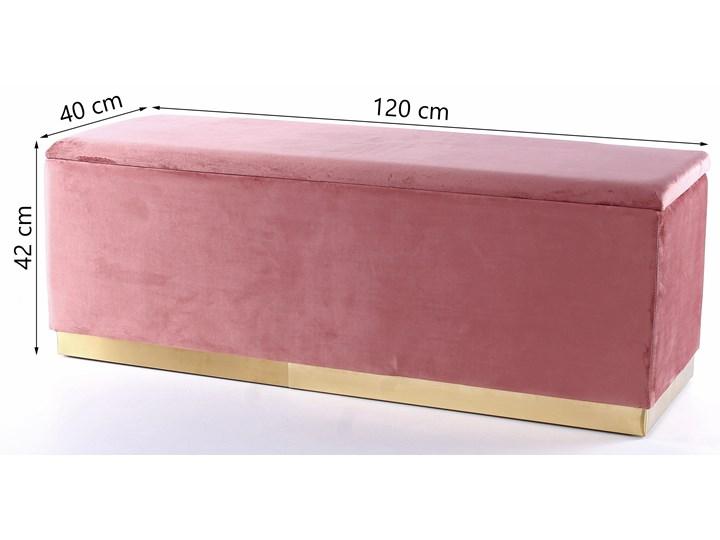 Ławka Cherry 120x42 cm różowa Kategoria Ławki do salonu