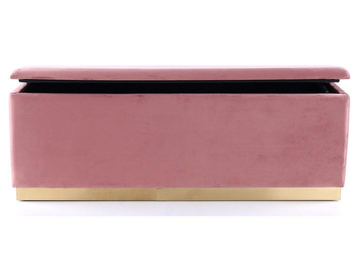 Ławka Cherry 120x42 cm różowa Styl Nowoczesny