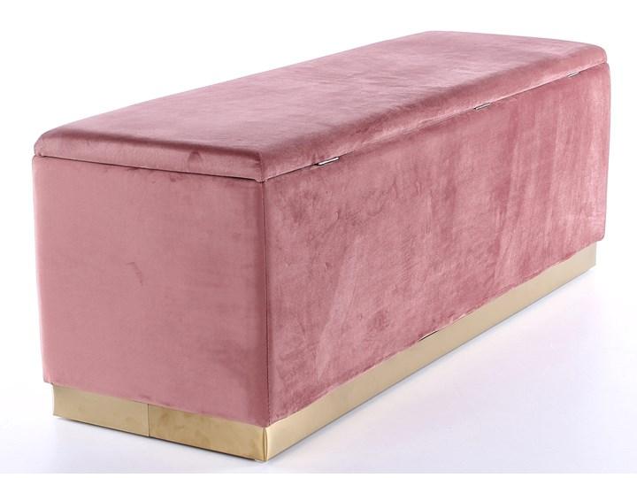 Ławka Cherry 120x42 cm różowa Kolor Różowy Styl Minimalistyczny