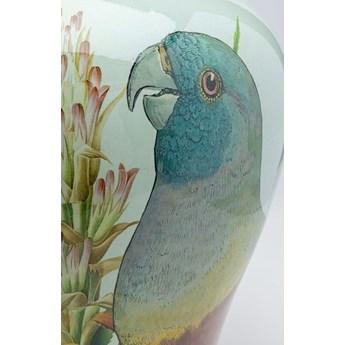 Pojemnik dekoracyjny Parrot Couple Ø33x48 cm kolorowy