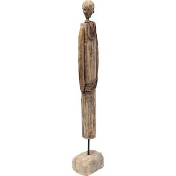 Figurka dekoracyjna African Man 13x69 cm drewniana