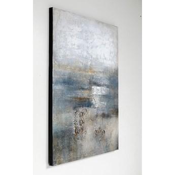 Obraz olejny Abstract Into The Night 120x90 cm
