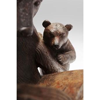 Figurka dekoracyjna Reading Bears 20x18 cm brązowa