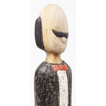 Dekoracja stojąca Butler 13x95 cm drewniana