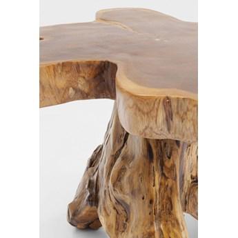 Stolik kawowy Tree 50x50 cm drewniany