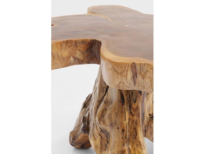 Stolik kawowy Tree 50x50 cm drewniany Kolor Beżowy Drewno Kategoria Stoliki i ławy