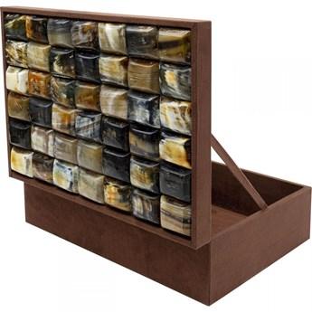 Pudełko na biżuterię lub kosmetyki Texas 40x30 cm