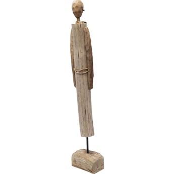 Figurka dekoracyjna African Woman 13x69 cm drewniana