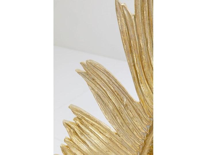 Dekoracja stojąca Feather Two 36x147 cm złota