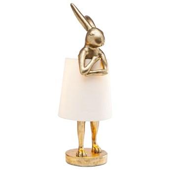 Lampa stołowa Animal Rabbit 23x68 cm złota