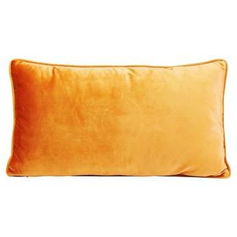 Poduszka dekoracyjna Classy Circles 50x30 cm pomarańczowa