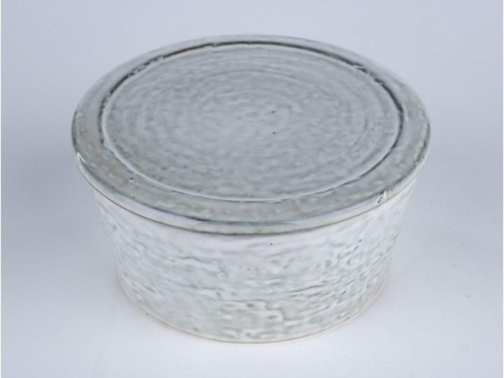 Pojemnik z pokrywką Rustic 14x7 cm szaroniebieski Kategoria Pojemniki i puszki Ceramika Żaroodporny Typ Pojemniki