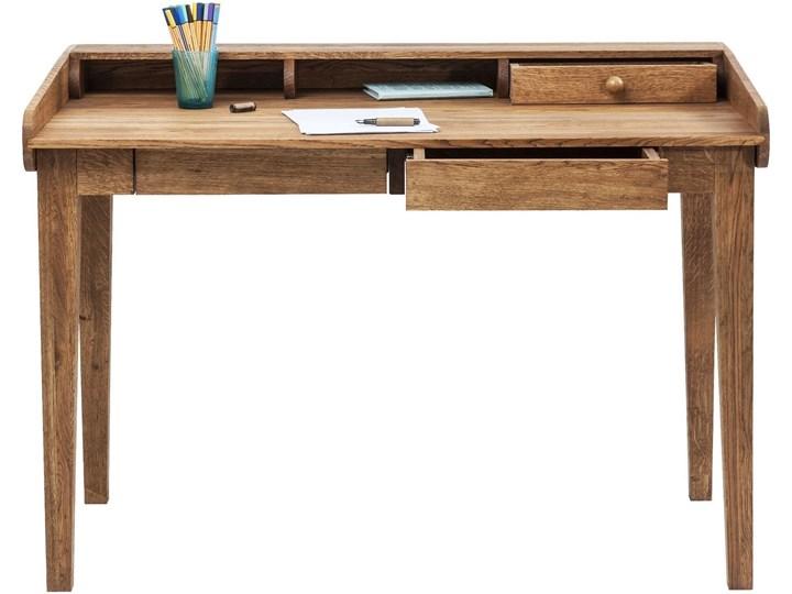 Sekretarzyk Attento 118x70 cm drewniany Szerokość 118 cm Drewno Kategoria Biurka Styl Nowoczesny
