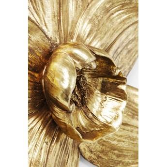 Dekoracja ścienna Orchid 40x44 cm złota