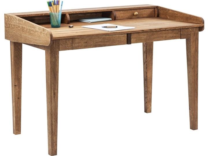 Sekretarzyk Attento 118x70 cm drewniany Drewno Szerokość 118 cm Styl Skandynawski