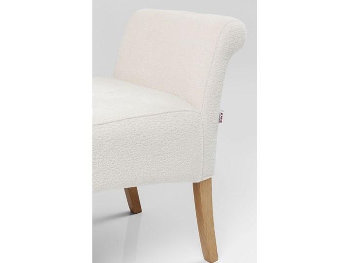 Ławka Motley Hugs 107x62 cm biała Pomieszczenie Sypialnia Pomieszczenie Salon
