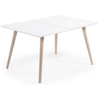 Stół rozkładany Quatre 140-220x90 cm biały
