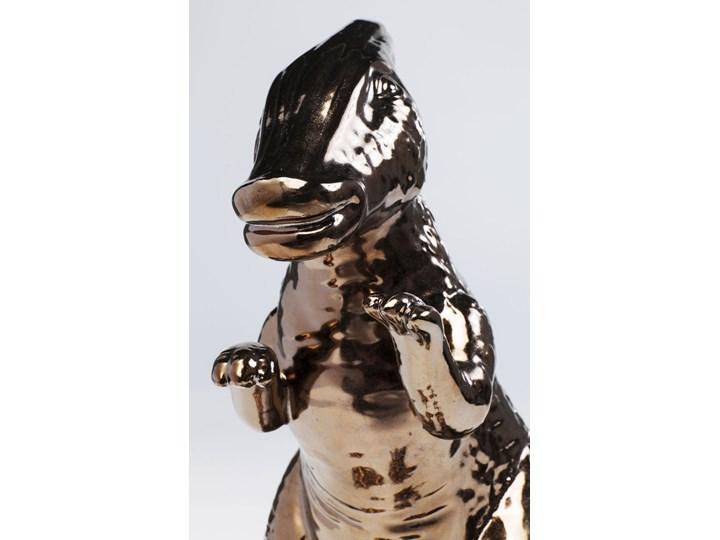 Figurka dekoracyjna Dino 37x33 cm Kolor Czarny