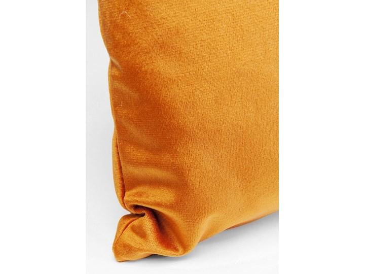 Poduszka dekoracyjna Classy Rings 50x28 cm pomarańczowa Prostokątne 28x50 cm Poszewka dekoracyjna Aksamit Poliester Kategoria Poduszki i poszewki dekoracyjne