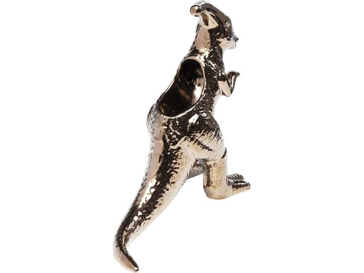 Figurka dekoracyjna Dino 37x33 cm Kolor Czarny Kategoria Figury i rzeźby