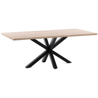 Stół Arya 160x100 cm drewniany nogi czarne