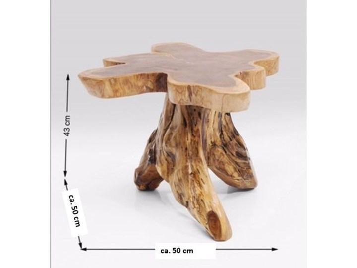Stolik kawowy Tree 50x50 cm drewniany Kształt blatu Drewno Kategoria Stoliki i ławy