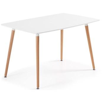 Stół Daw 140x80 cm biały