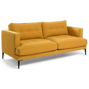 Sofa 2-osobow Tanya w kolorze musztardowym 183 cm