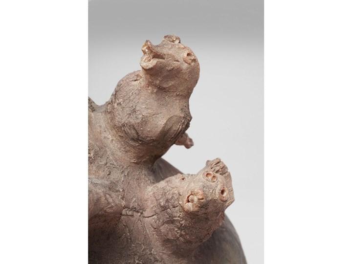 Figurka dekoracyjna Shape Family 36x51 cm Tworzywo sztuczne Kolor Szary Kategoria Figury i rzeźby