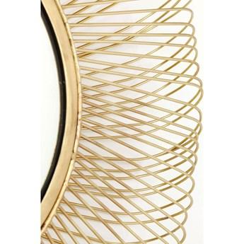 Lustro wiszące El Sol Gold Ø79 cm złote