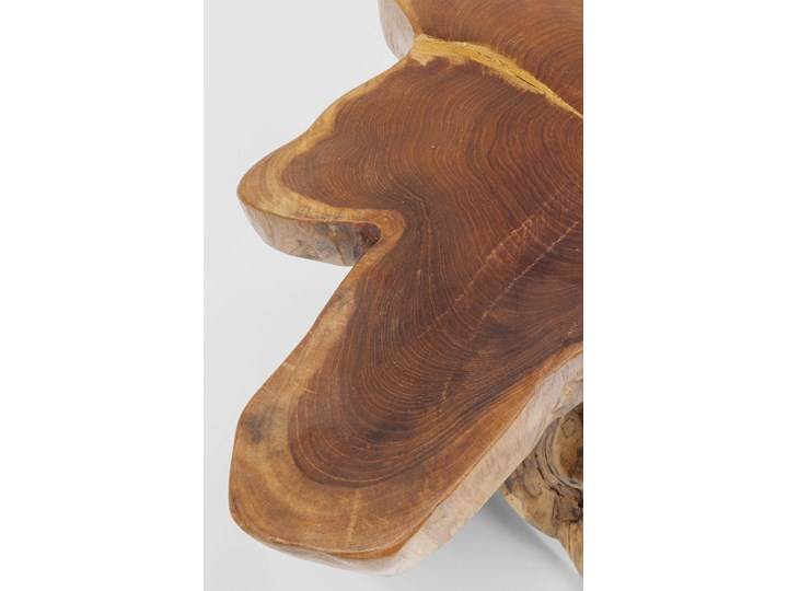 Stolik kawowy Tree 50x50 cm drewniany Drewno Kształt blatu
