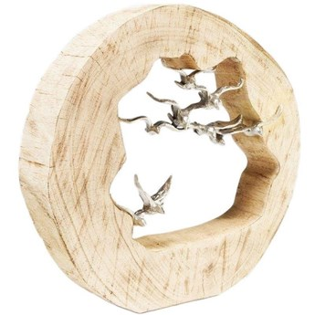 Figurka dekoracyjna Birds In Log 36x36 cm