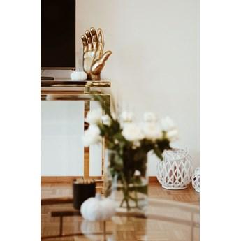 Figurka dekoracyjna Mano 23x35 cm złota