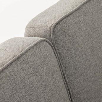 Sofa rozkładana Nelki 267x83 cm szara