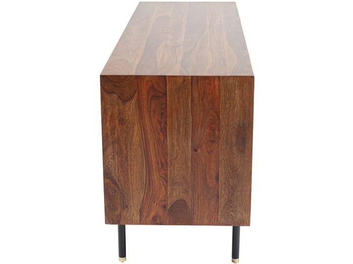 Komoda Ravello 140x68 cm sheesham brązowa Płyta MDF Wysokość 40 cm Drewno Szerokość 140 cm Pomieszczenie Pokój nastolatka