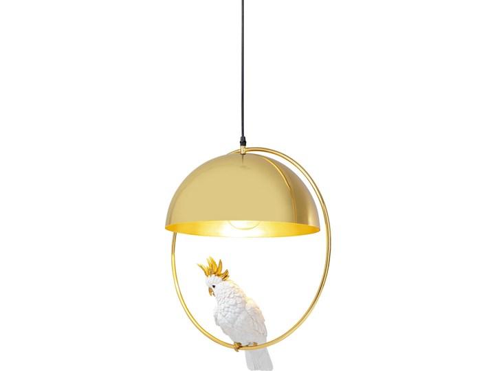 Lampa wisząca Cockatoo 46x60 cm złota Kolor Złoty Ilość źródeł światła 1 źródło