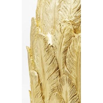Wazon Feathers Ø35x91 cm złoty