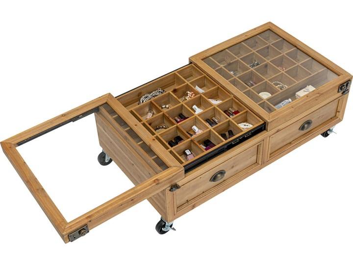 Stolik kawowy Collector Double 101x56 cm naturalny Rozmiar blatu 56x110 cm Kategoria Stoliki i ławy