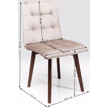 Krzesło Moritz 49x89 cm szare