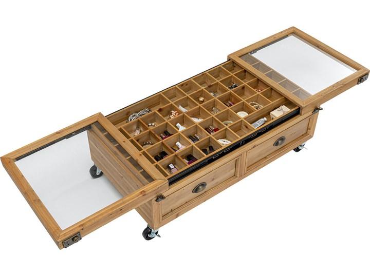 Stolik kawowy Collector Double 101x56 cm naturalny Rozmiar blatu 56x110 cm