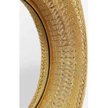 Lustro wiszące Treccia ∅102 cm złote