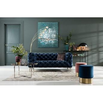 Obraz Abstract One 150x120 cm niebieski
