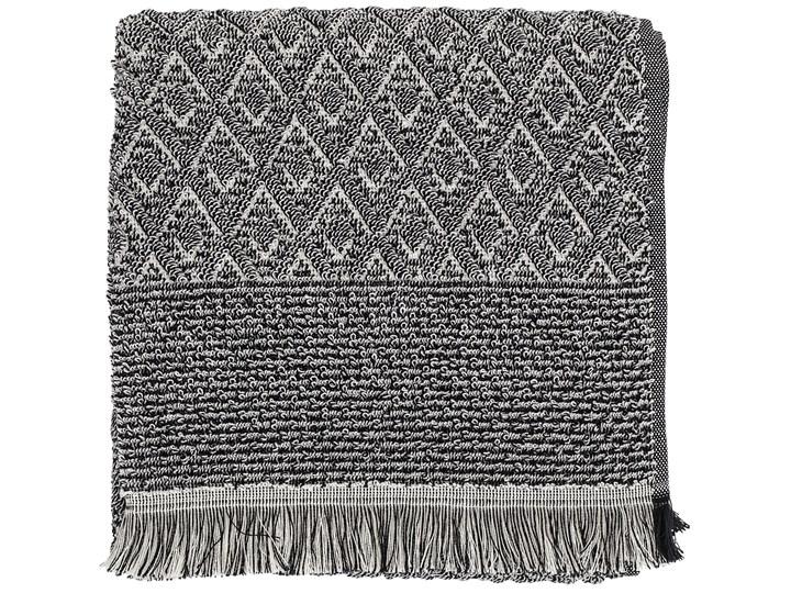 Ręcznik Incado 140x70 cm czarno-biały Bawełna 70x140 cm Kategoria Ręczniki