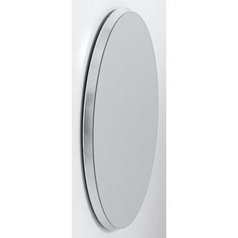 Lustro Jetset Oval 63x93 cm srebrne