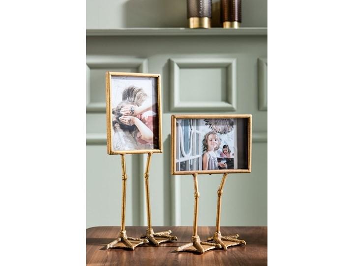 Ramka Duck Feet pozioma 19x38 cm złota Ramka na zdjęcia Pomieszczenie Pokój przedszkolaka Pomieszczenie Salon